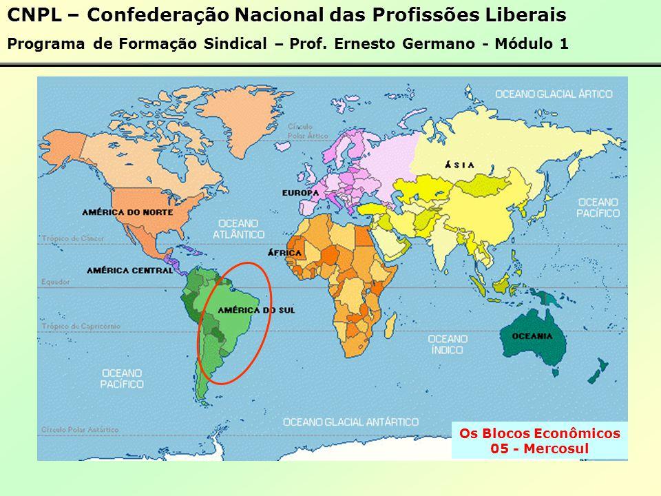 Os Blocos Econômicos 05 - Mercosul