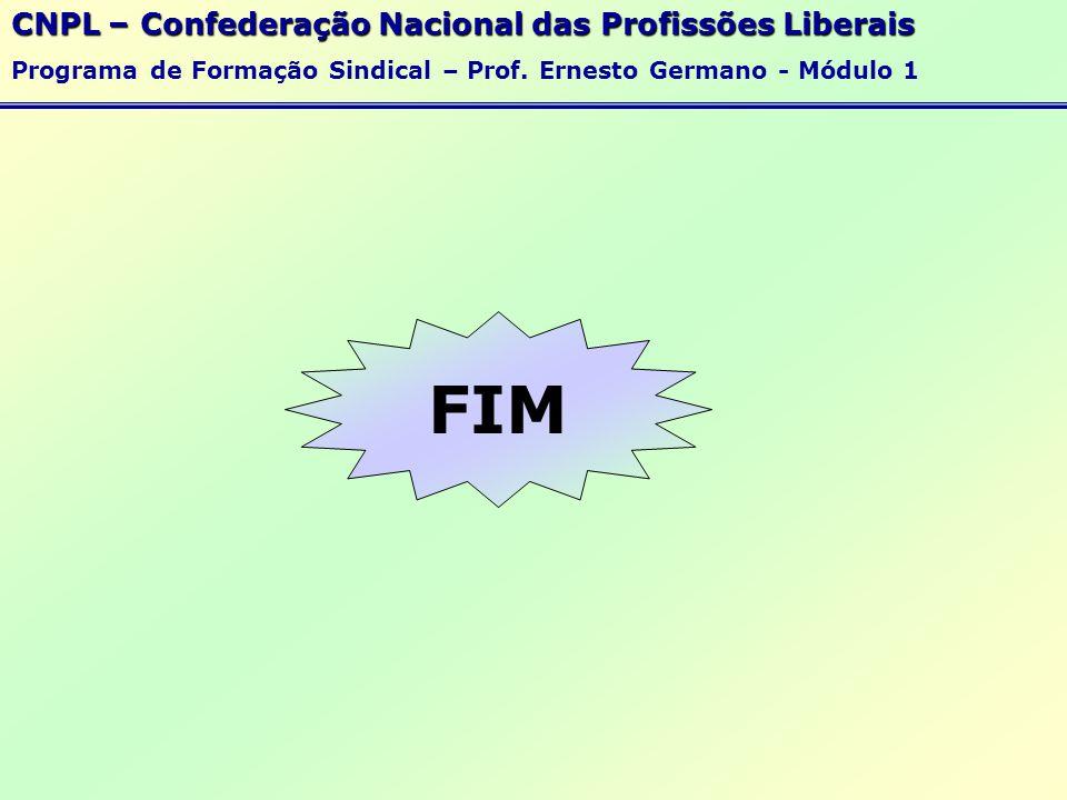 FIM CNPL – Confederação Nacional das Profissões Liberais