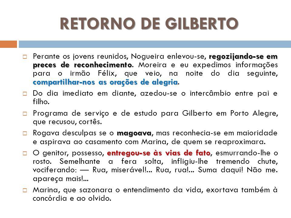 RETORNO DE GILBERTO