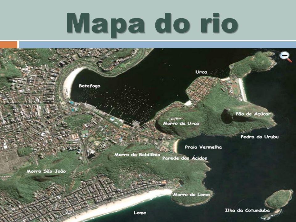 Mapa do rio