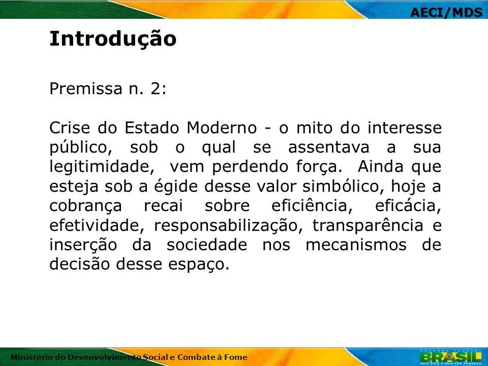 Introdução Premissa n. 2: