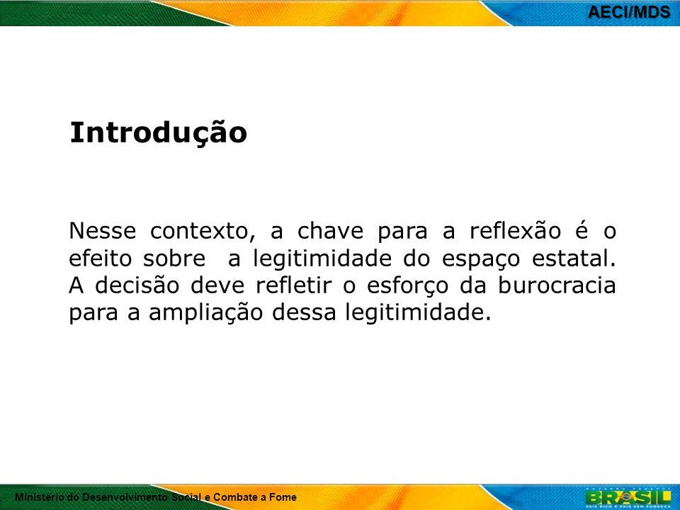 AECI/MDS Introdução.