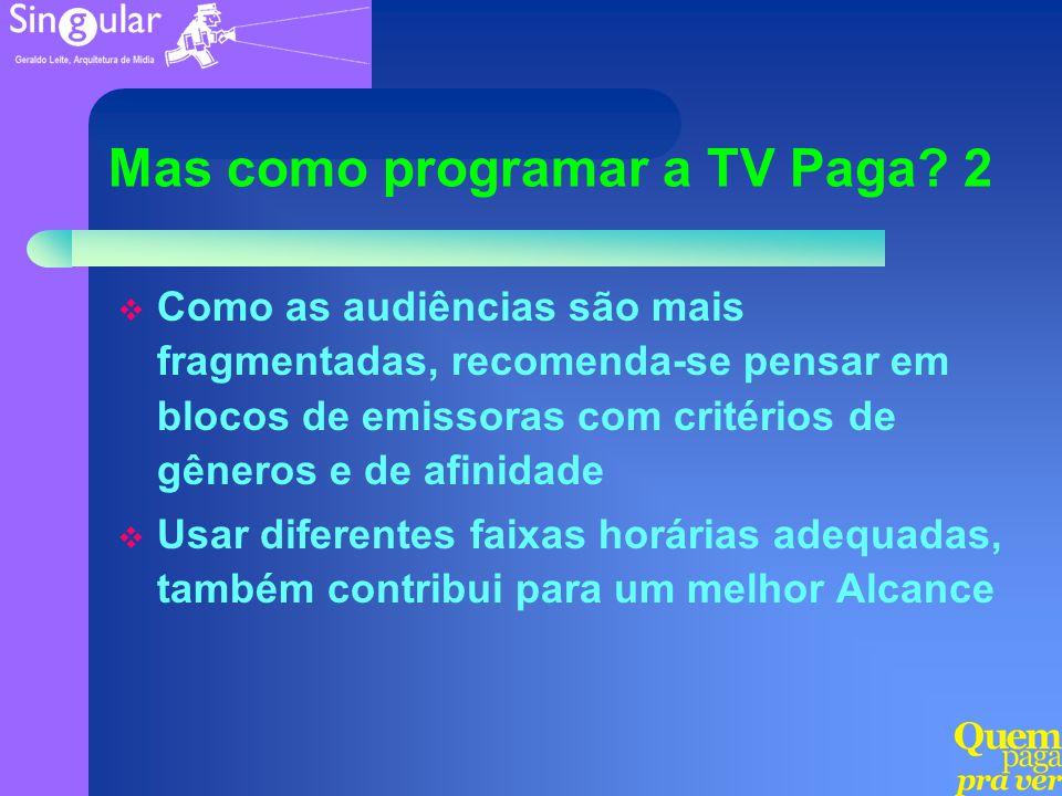 Mas como programar a TV Paga 2