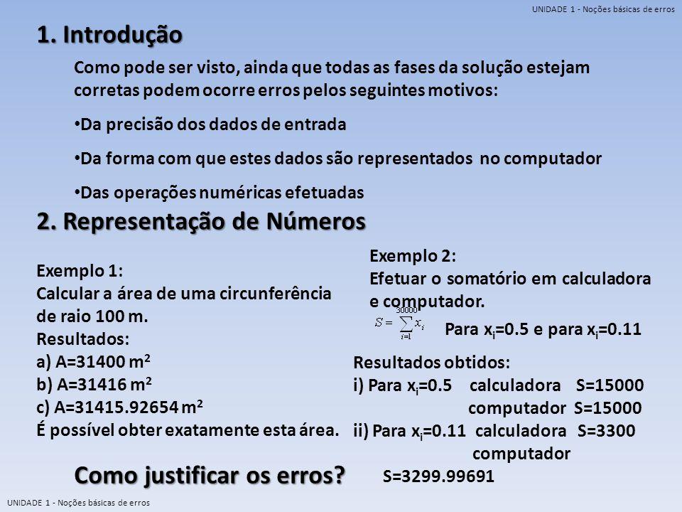 2. Representação de Números