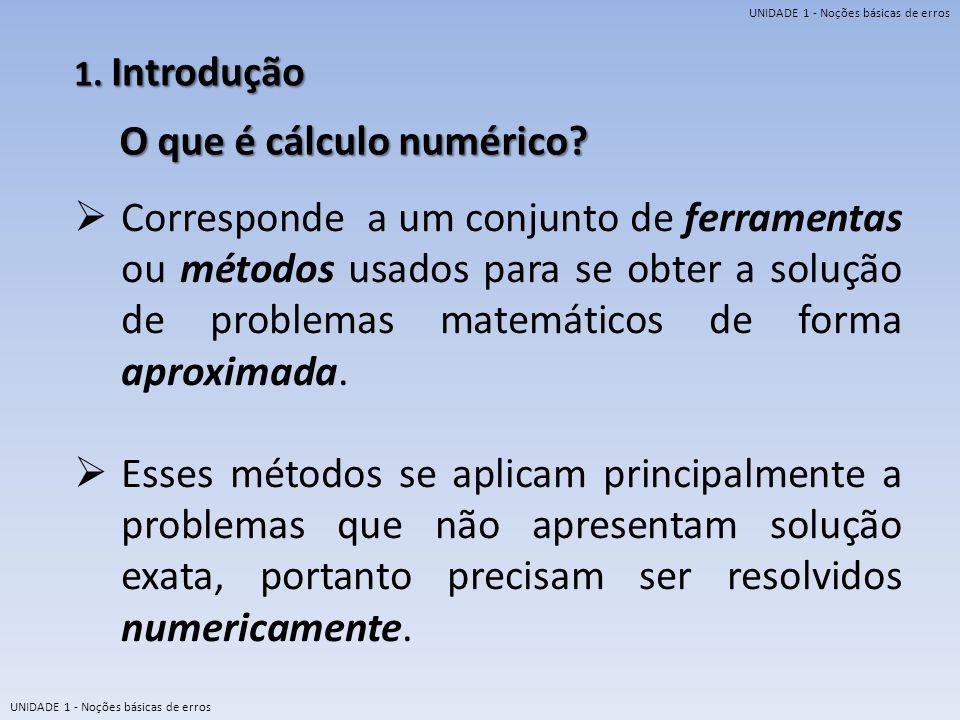 O que é cálculo numérico