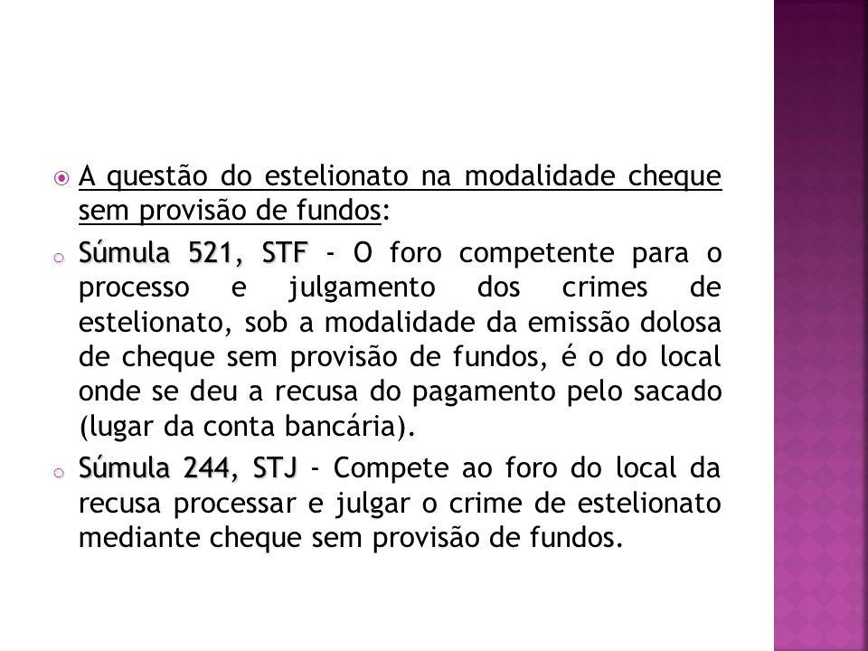 A questão do estelionato na modalidade cheque sem provisão de fundos: