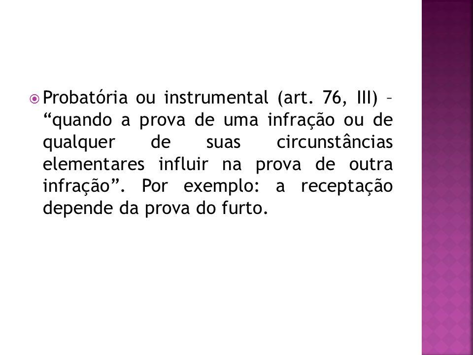 Probatória ou instrumental (art