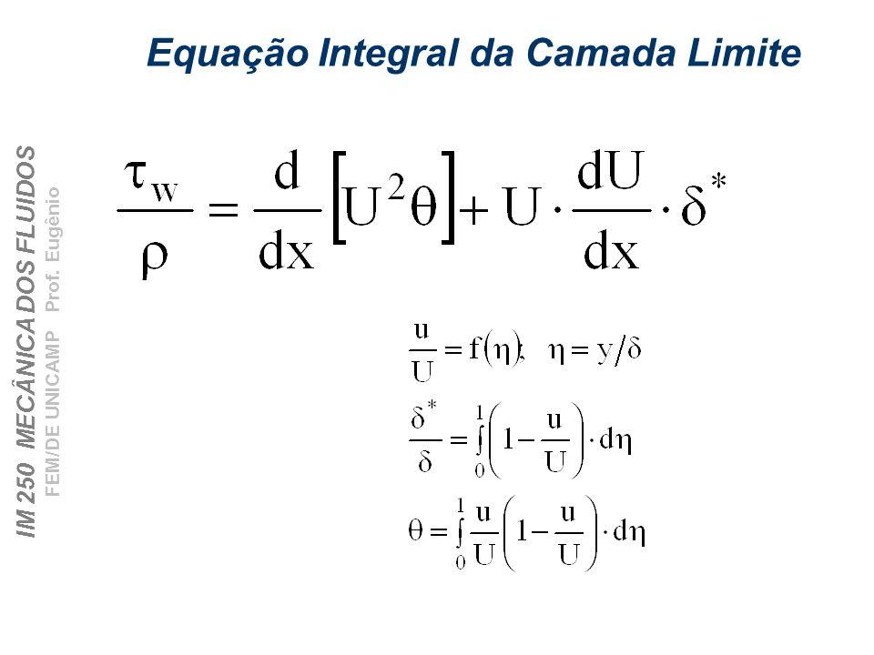 Equação Integral da Camada Limite