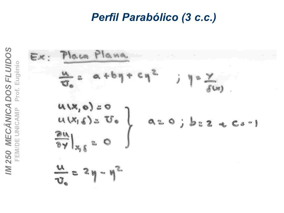 Perfil Parabólico (3 c.c.)