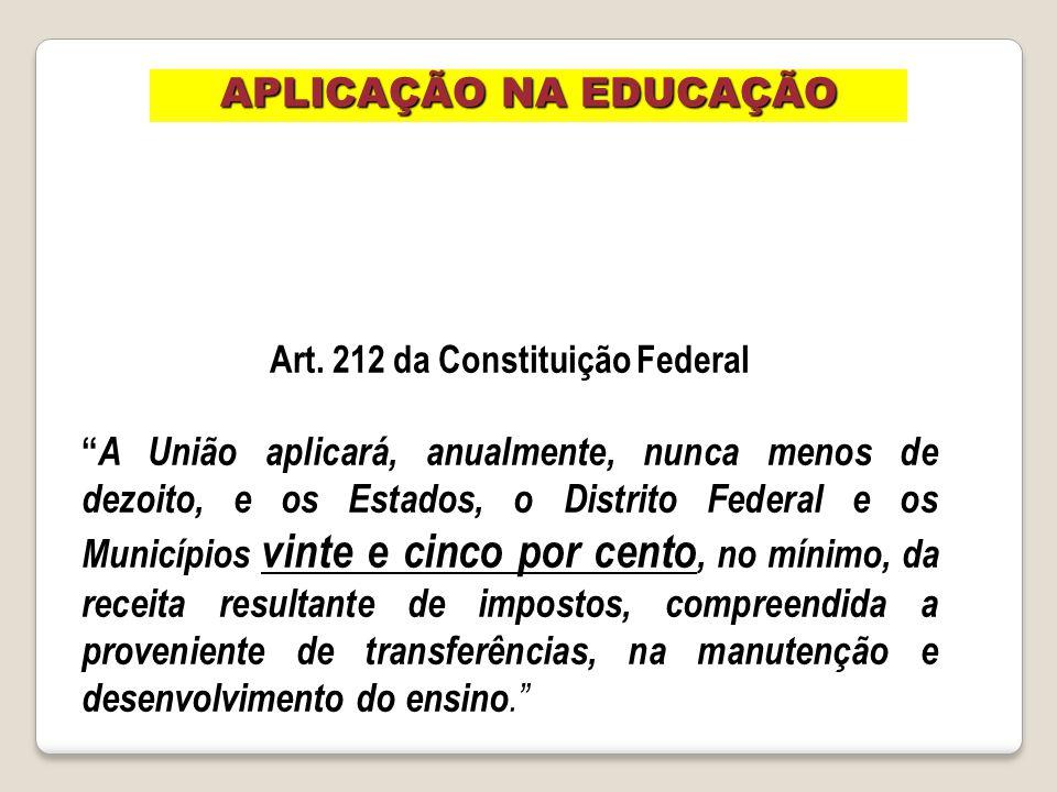 Art. 212 da Constituição Federal