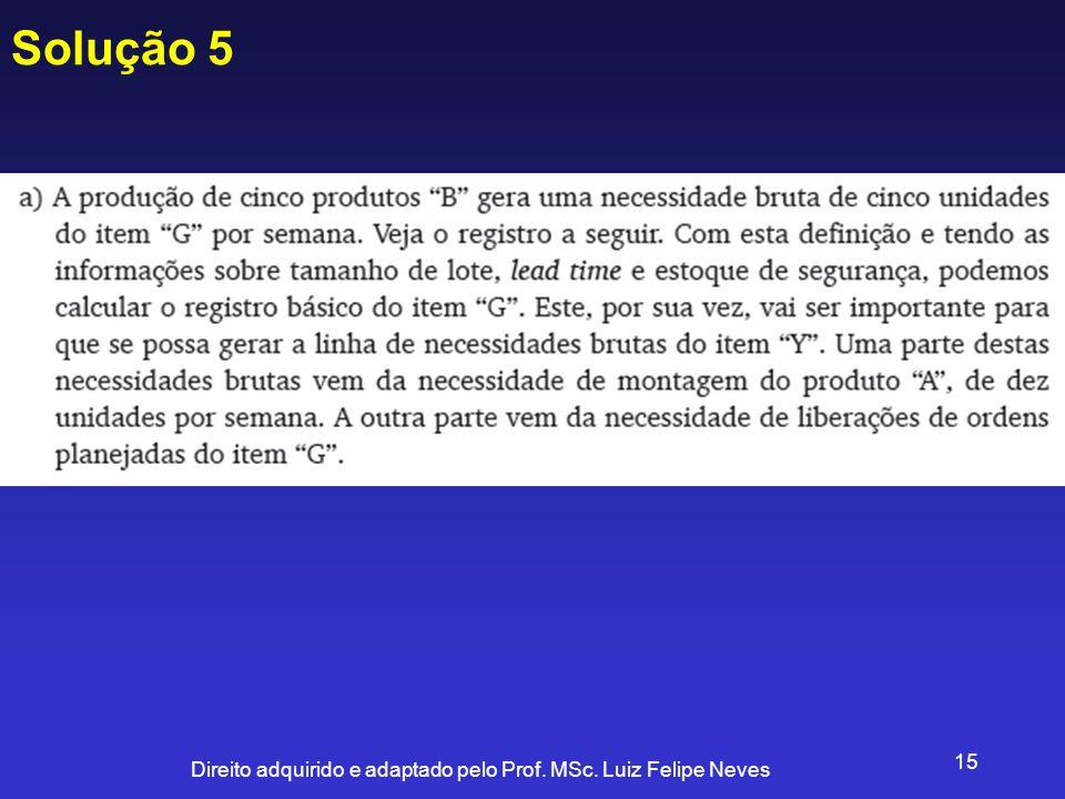 Solução 5