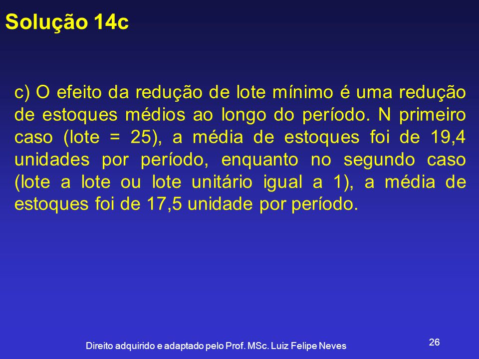 Solução 14c