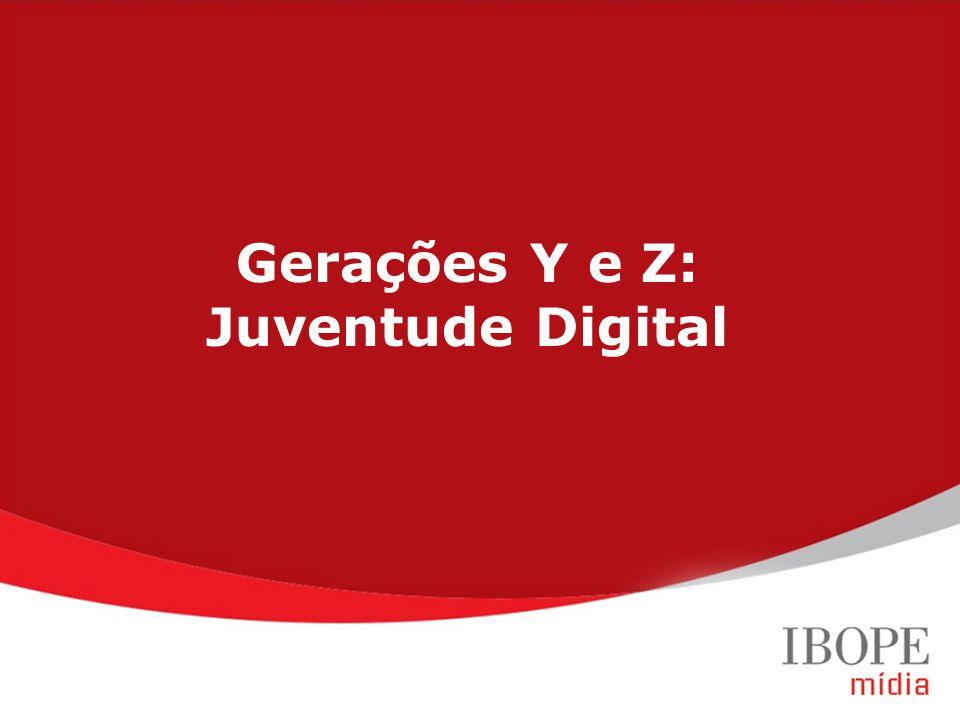 Gerações Y e Z: Juventude Digital