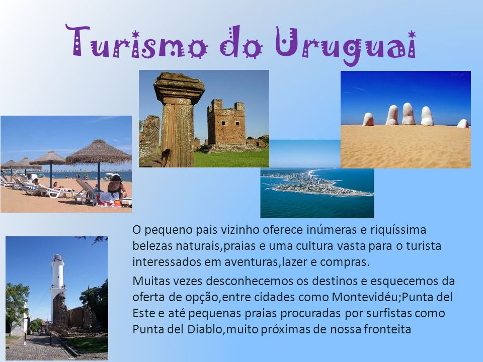 Turismo do Uruguai