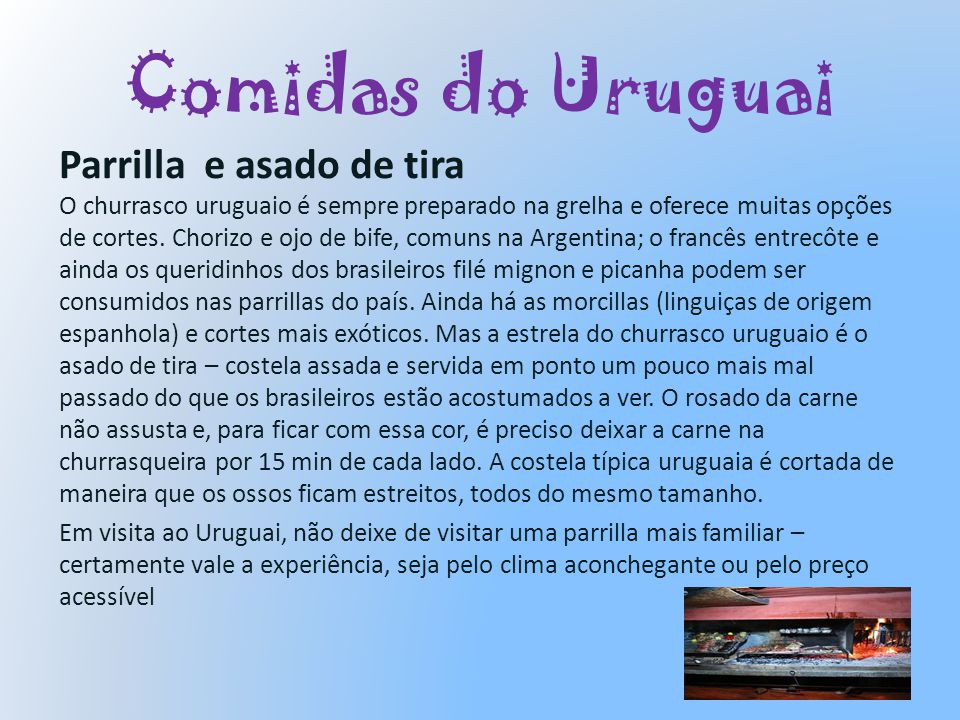 Comidas do Uruguai