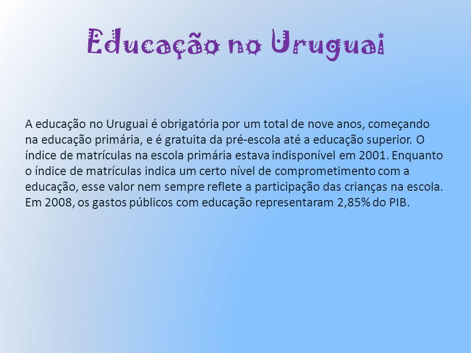 Educação no Uruguai