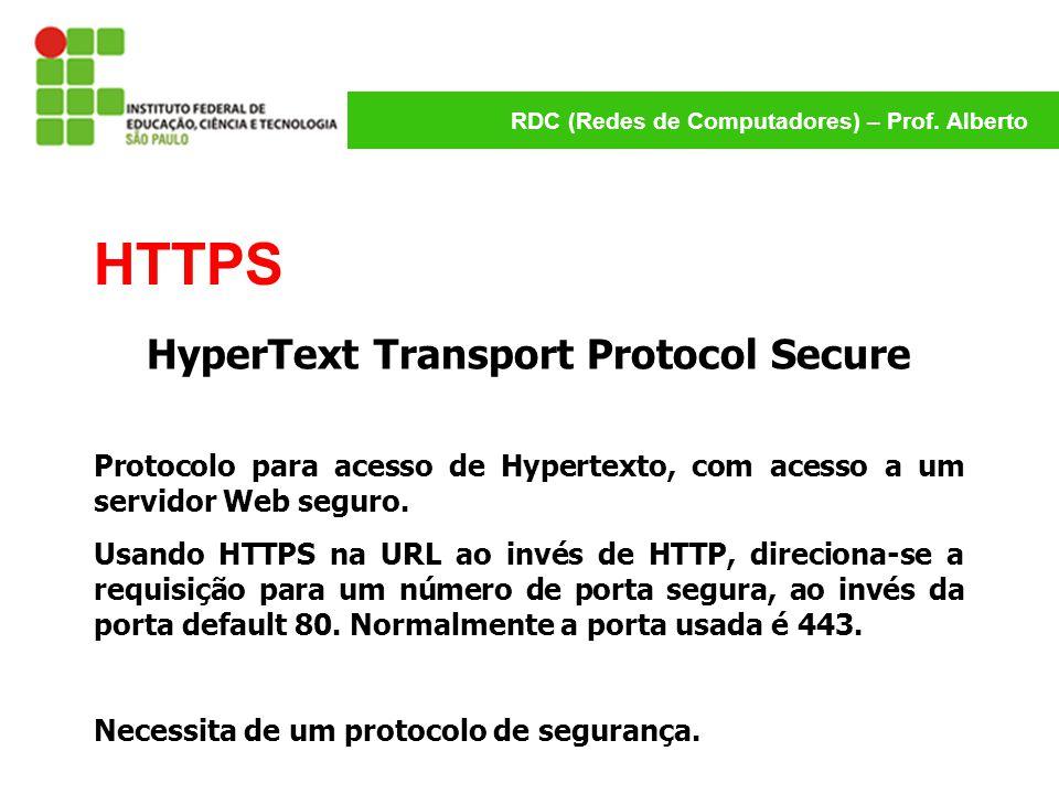 HyperText Transport Protocol Secure