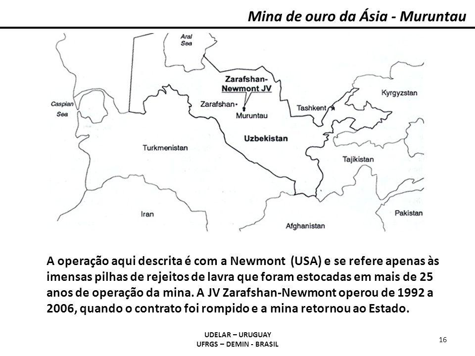 Mina de ouro da Ásia - Muruntau