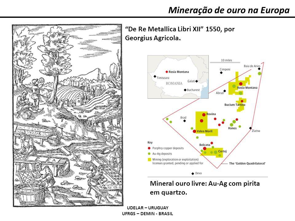 Mineração de ouro na Europa