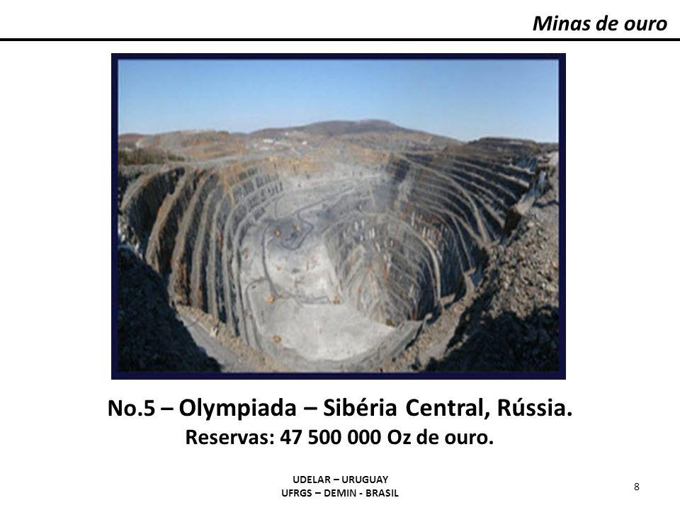 Minas de ouro #5 | OLYMPIADA | 47,500,000 Oz Gold.