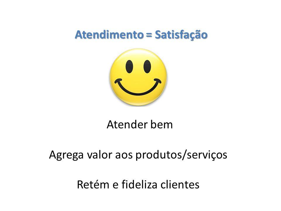 Atendimento = Satisfação
