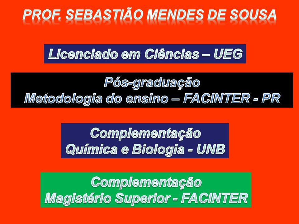Prof. Sebastião mendes de Sousa