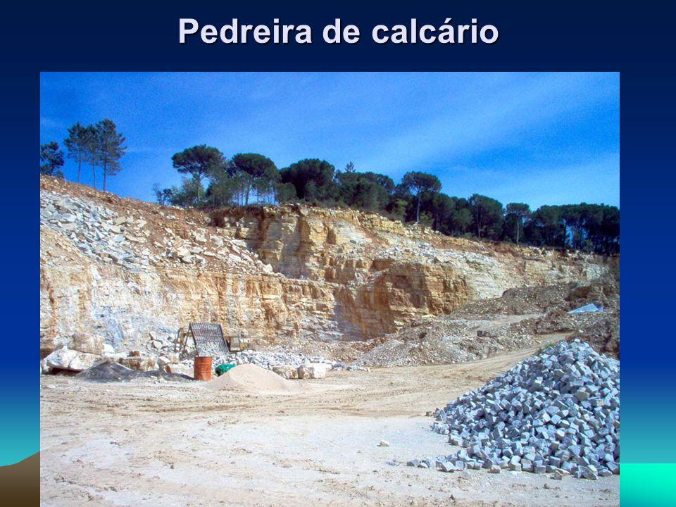 Pedreira de calcário