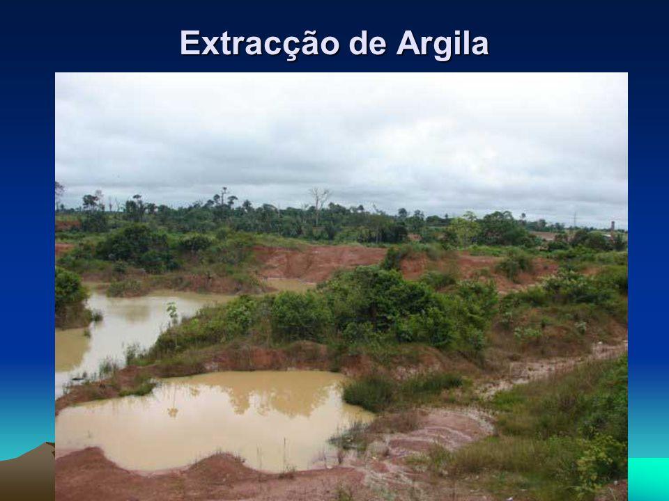 Extracção de Argila
