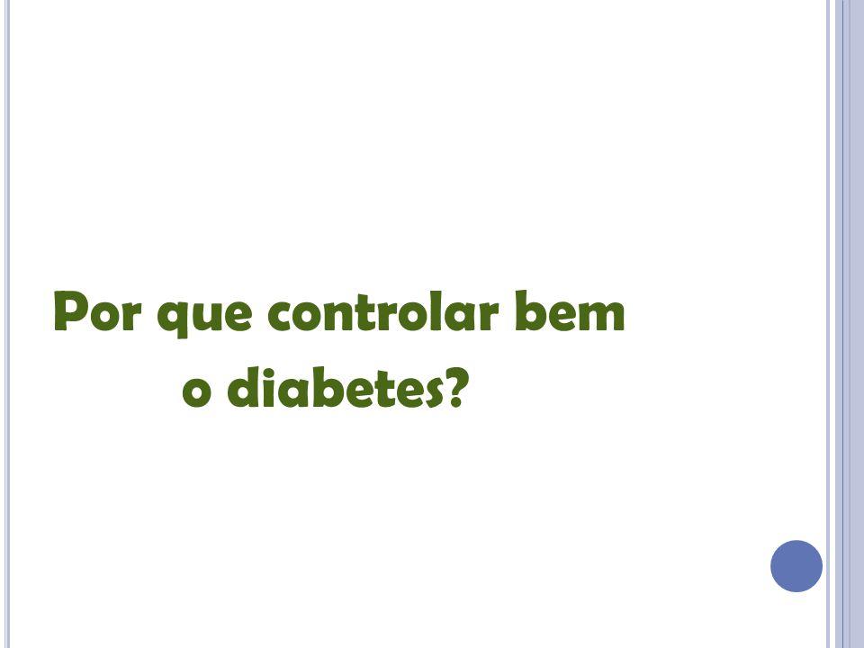Por que controlar bem o diabetes
