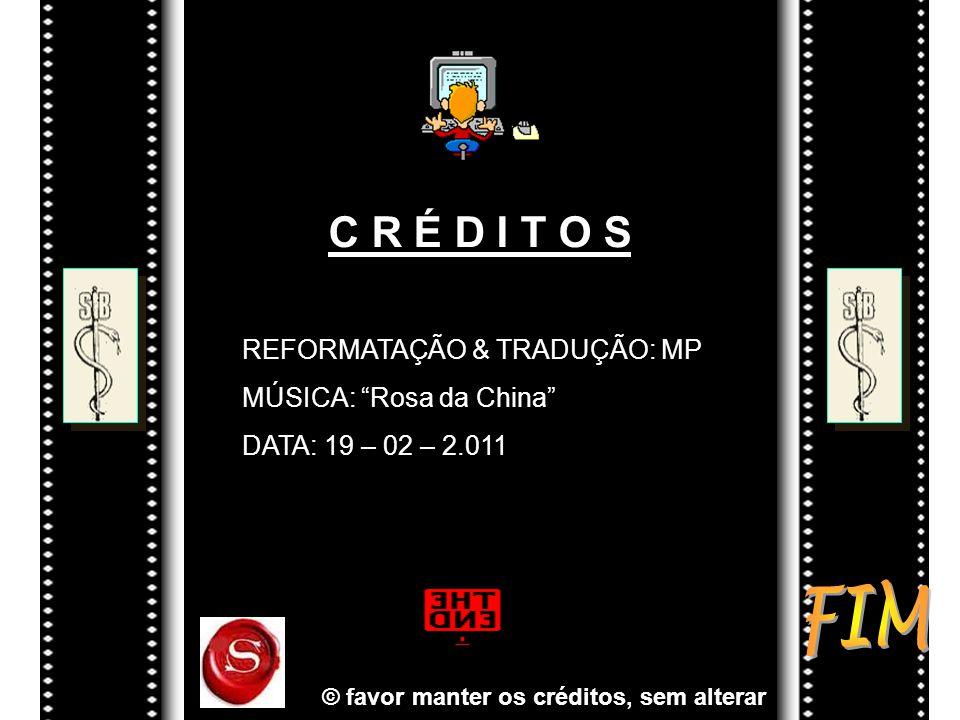 © favor manter os créditos, sem alterar