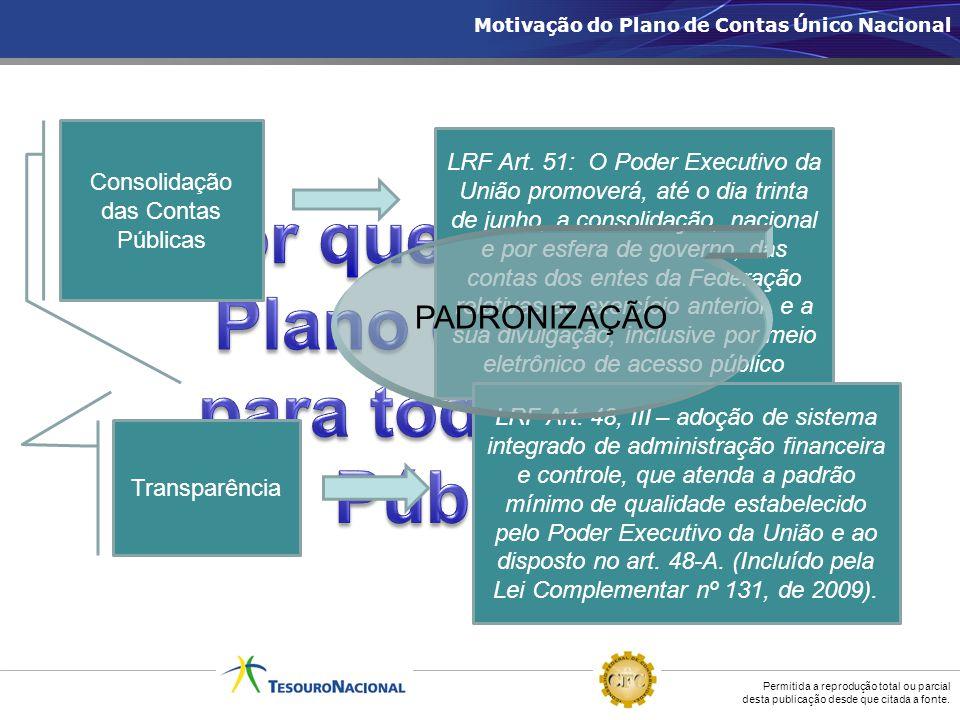 Por que adotar um Plano de Contas para todo o Setor Público
