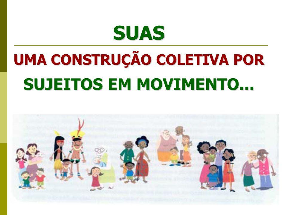 UMA CONSTRUÇÃO COLETIVA POR SUJEITOS EM MOVIMENTO...