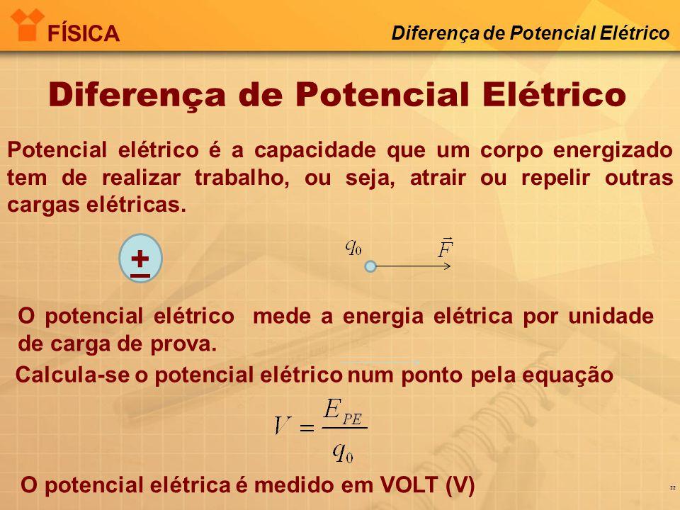 Diferença de Potencial Elétrico