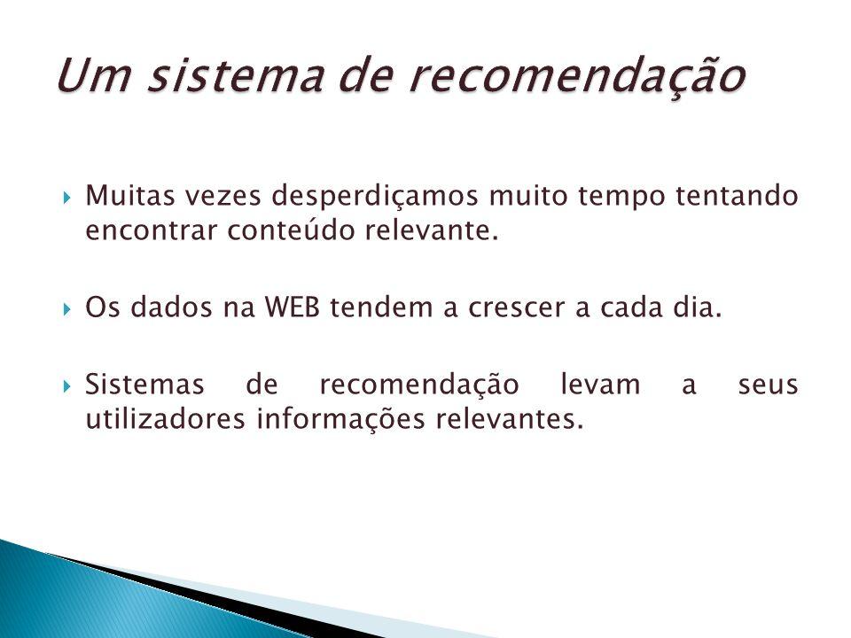 Um sistema de recomendação