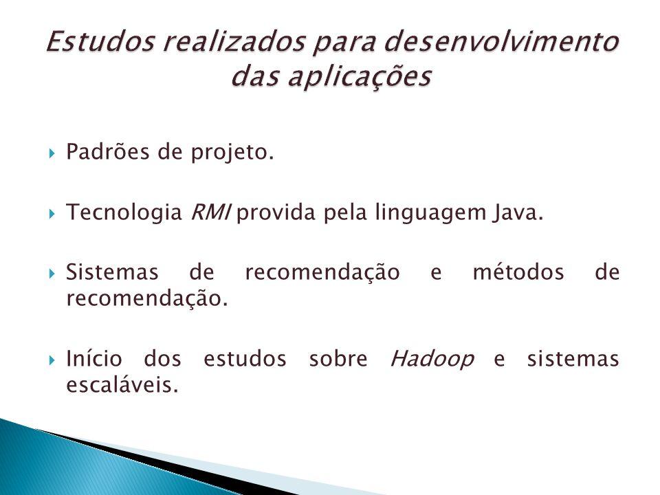 Estudos realizados para desenvolvimento das aplicações