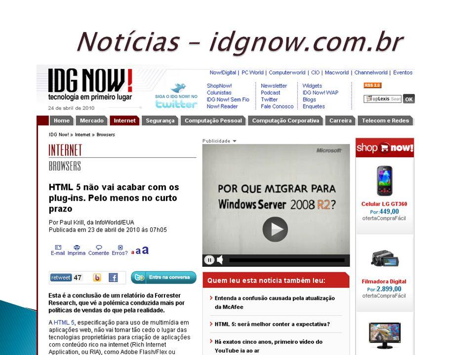 Notícias – idgnow.com.br