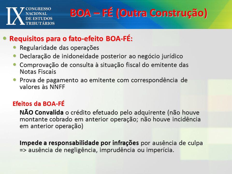 BOA – FÉ (Outra Construção)