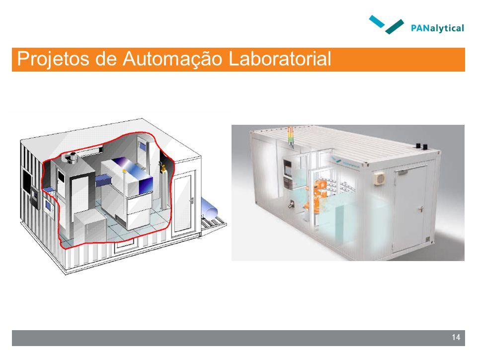 Projetos de Automação Laboratorial