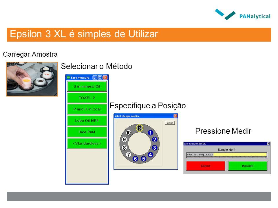 Epsilon 3 XL é simples de Utilizar