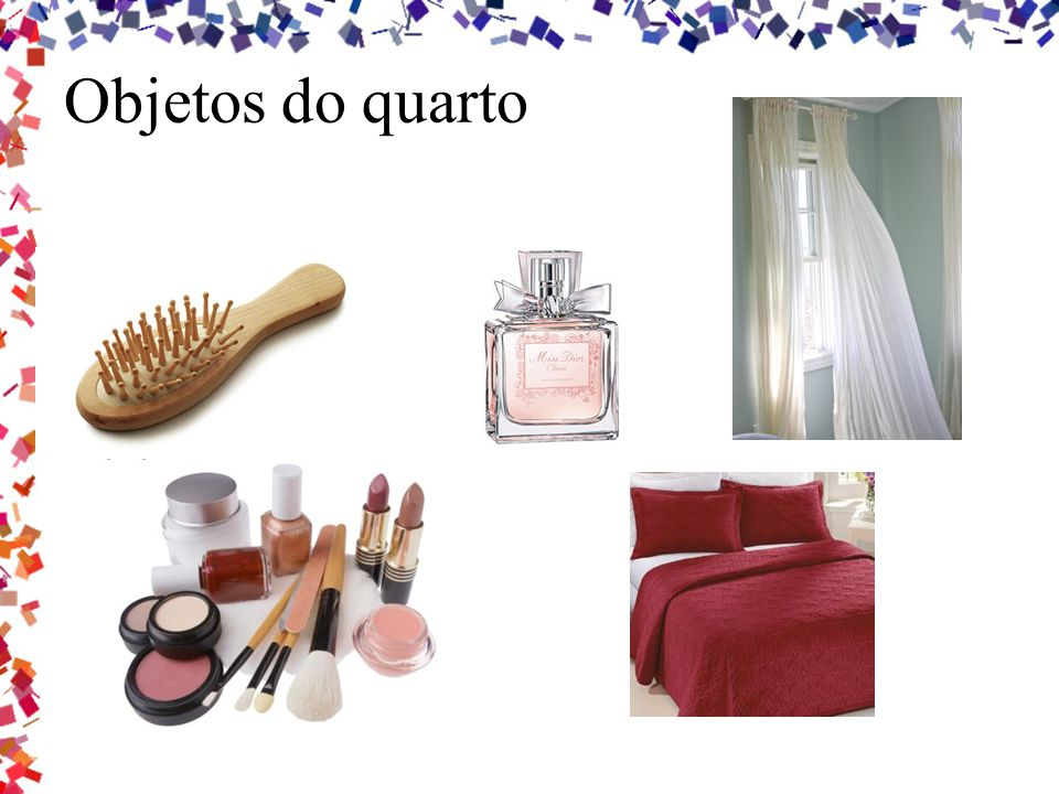 Objetos do quarto
