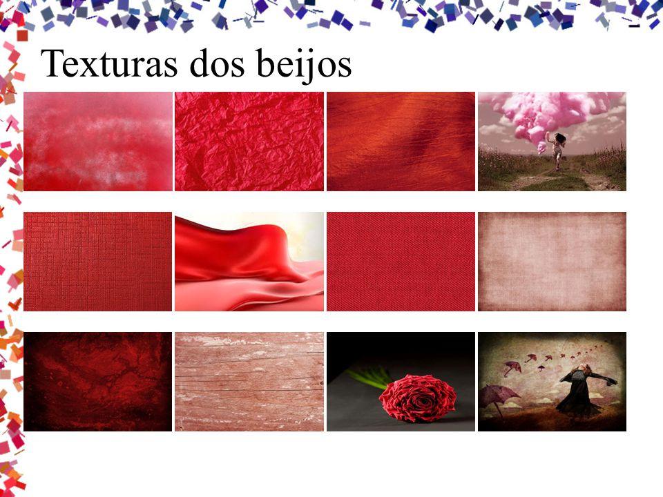 Texturas dos beijos
