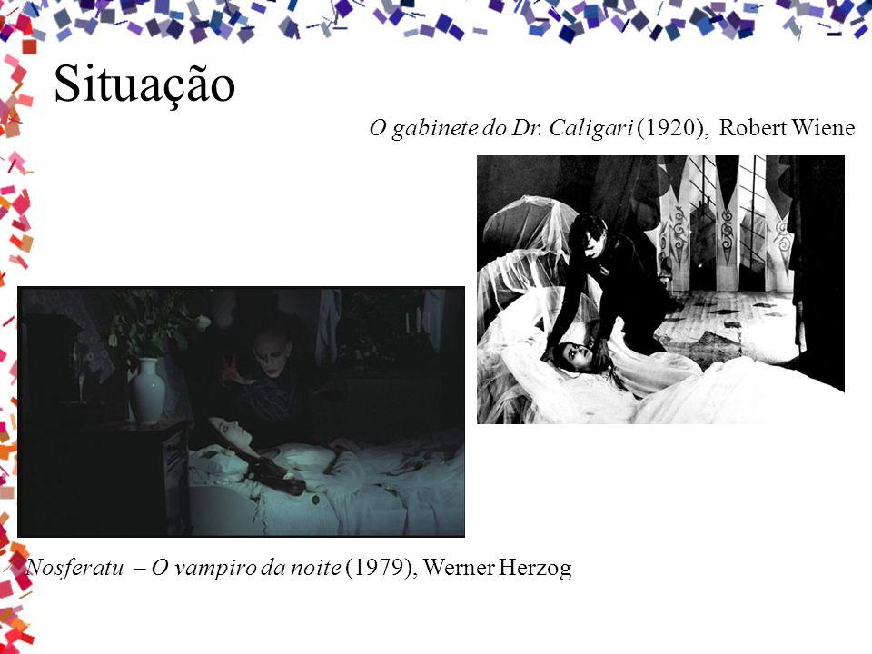 Situação O gabinete do Dr. Caligari (1920), Robert Wiene