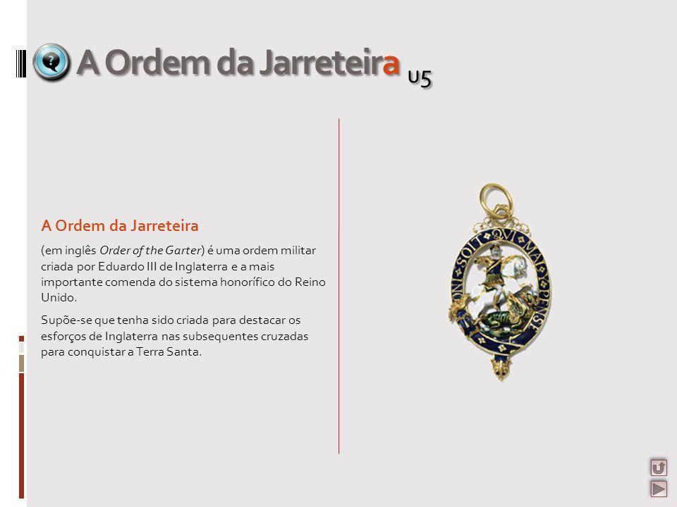 A Ordem da Jarreteira u5 A Ordem da Jarreteira