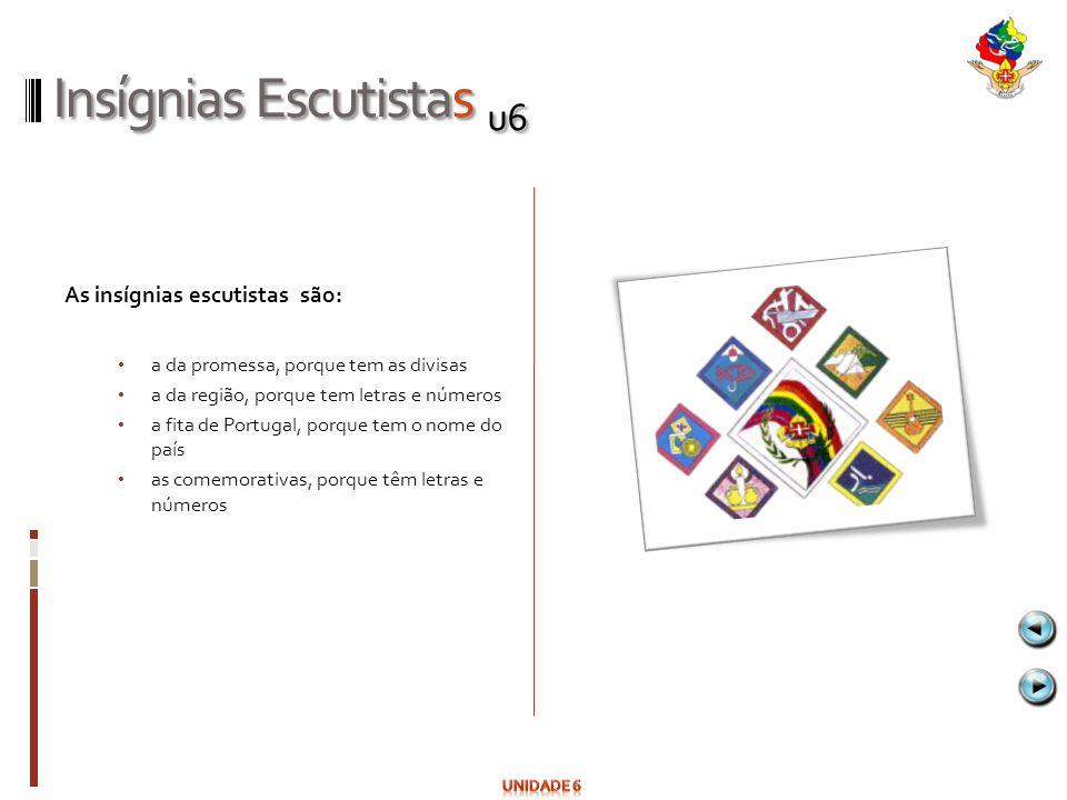 Insígnias Escutistas u6