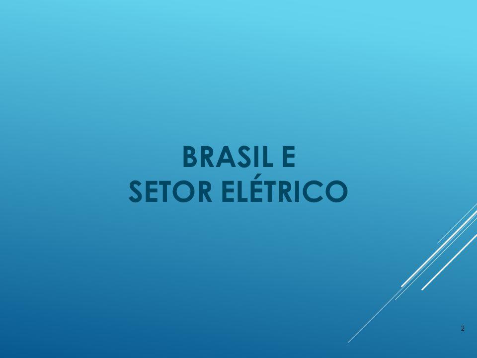 BRASIL E Setor elétrico