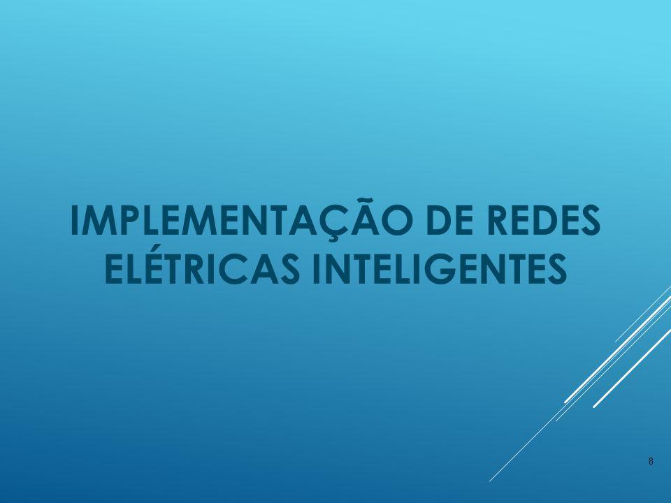 IMPLEMENTAÇÃO DE REDES ELÉTRICAS INTELIGENTES