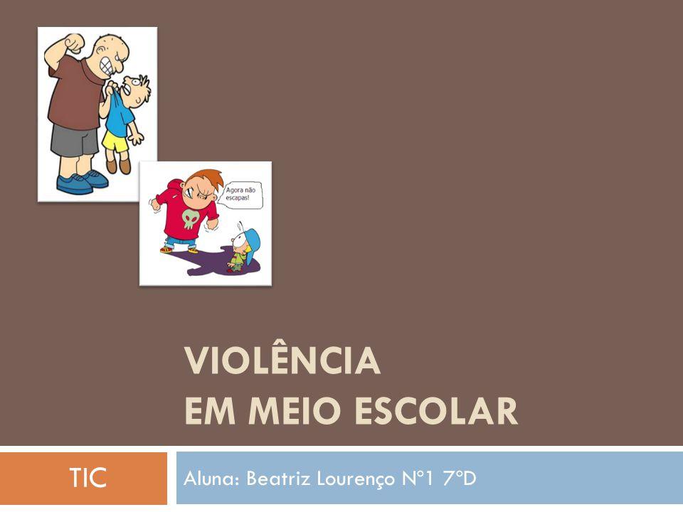 Violência em Meio Escolar