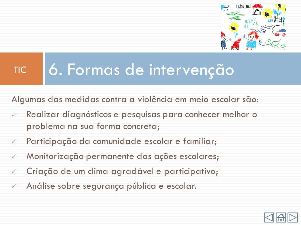 6. Formas de intervenção TIC