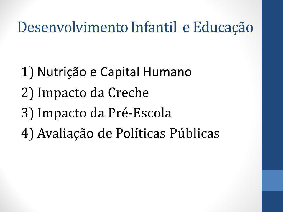 Desenvolvimento Infantil e Educação