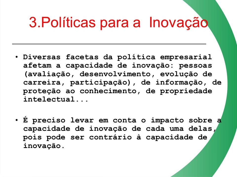 3.Políticas para a Inovação